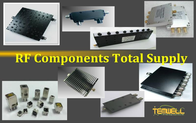 Temwell supplies RF Components such as RF microwave filters