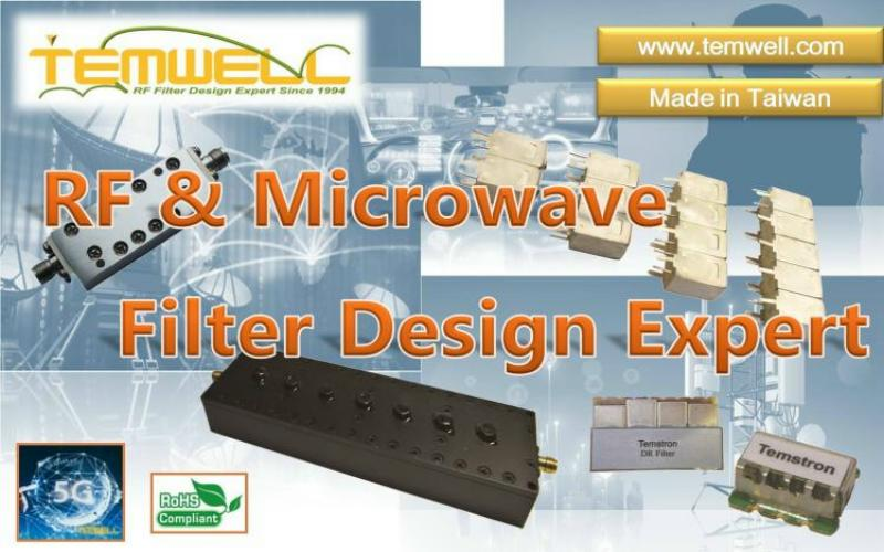 Taiwan Temwell RF microwave component supplier