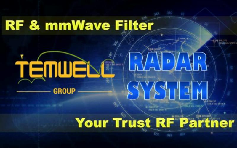 Temwell Brand of RF Microwave Components used in Radar System