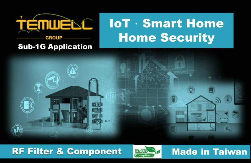 Temwell gives you the best solution of RF microwave components supports Sub-1G application.