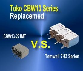 Toko CBW13 replaced list