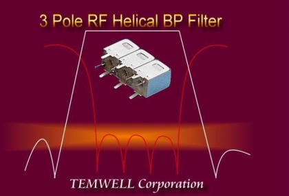 Filter Store: Triple Tuning Helical Filter
