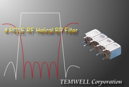 Filter Store: Quadruple Tuning Helical Filter