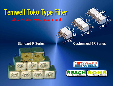 Temwell Toko Helical Filters