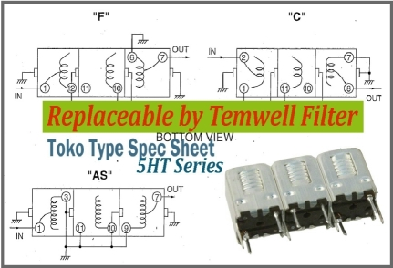 Temwell 5HT Series Toko Helical Filters