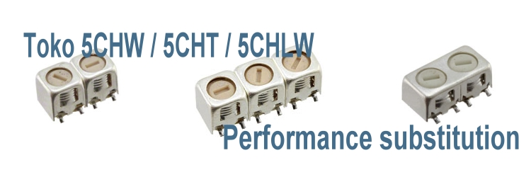 Temwell 5CHW/5CHT/5CHLW Series Toko Helical Filters