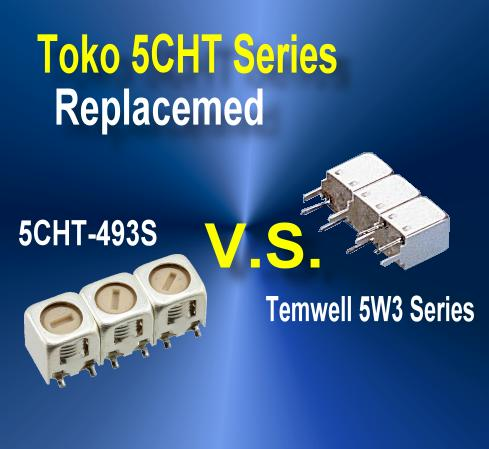 5CHT Series Helical Filters for Toko Filter Replacement