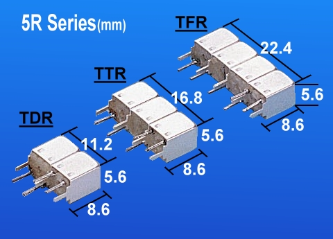 Temwell 5R Series RF Band Pass Helical Filter