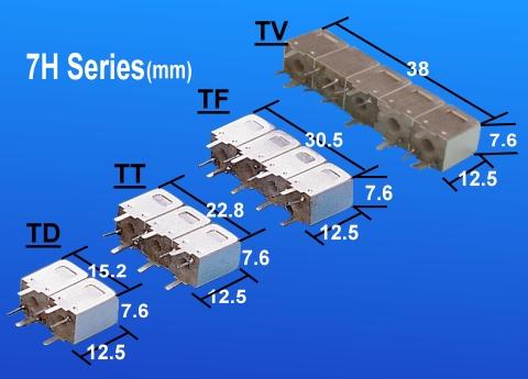 Temwell 7H Series Custom Bandpass Filters