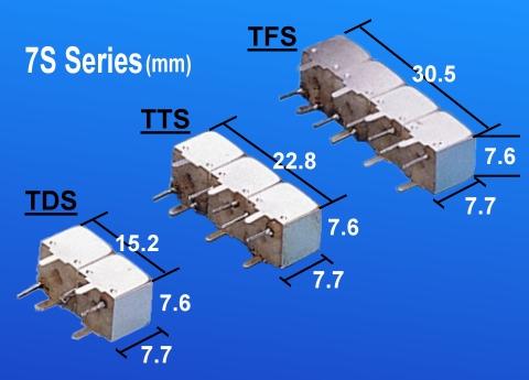 Temwell 7S Series Custom Band Pass Filters