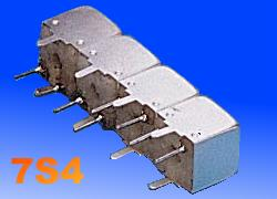 Temwell 7S4 Series Helical Bandpass Filter