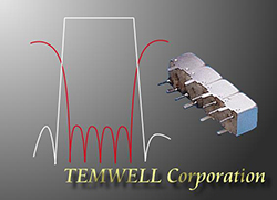 Temwell 7S4 Series Helical Bandpass Filter